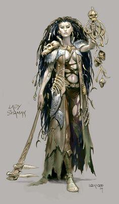 D&D Druid Concept