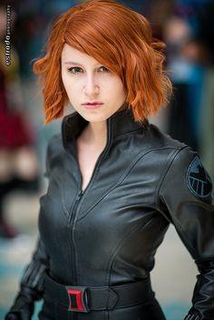 Black Widow, Avengers, photo by Erik Estrada.