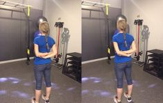 7 Exercises That Instantly Un-Hunch Your Shoulders : Soft-Tissue Chest Massage | Prevention