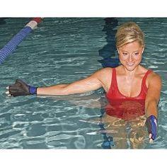 Power Systems Neoprene Water Gloves, (aquatic fitness equipment, aqua bells, aqua therapy, aquarobics, aquatherapy, aquatic exercise equipment, deep water aerobics, water aerobics, water exercises)