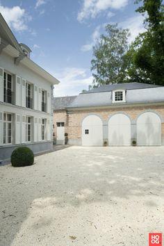B  Villas Renovation Interiors - Klassieke manoir Kraainem - Hoog ■ Exclusieve woon- en tuin inspiratie.