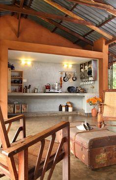Rustic simplicity #interiordesignindia