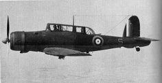 A British Royal Navy Fleet Air Arm Blackburn Skua