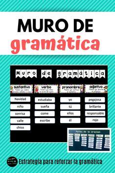 Spanish Lesson Plans, Spanish Lessons, English Lessons, Learn English, Learn Spanish, Spanish Classroom Decor, Spanish Classroom Activities, Future Classroom, Teaching English Grammar