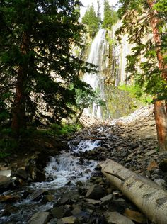 Palisade Falls, Hyalite Canyon - hiked up there for the first time this week!