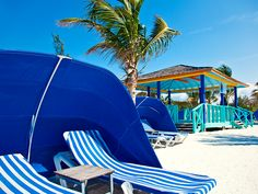 Relax in CocoCay, Bahamas.