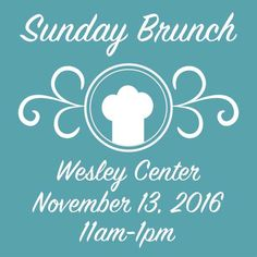 Join us Sunday for the last brunch of 2016! #clermontfl #SundayBrunch #fumc