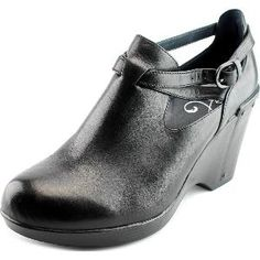 fc6fce8166e Dansko Franka Women Round Toe Leather Black Clogs from Shoe Metro - The  Dansko Franka Casual