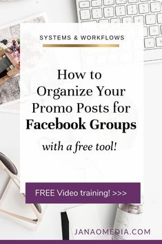 FREE mini-training: Organize Your Facebook Group Posting & Engagement Workflow - using Asana. Facebook Groups offer so many opportunities to connect, collaborate, promote your online business. But they can be time-consuming - so you have to be strategic! In this free video, I show you exactly how I do it. About: productivity in online business, get coaching clients in Facebook groups. #onlinebusiness #FacebookGroups Time Management Tips, Project Management, Asana, Business Tips, Online Business, Content Marketing Strategy, Marketing Quotes, Online Coaching, Online Entrepreneur