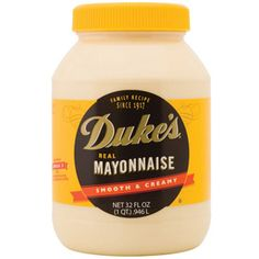 Duke's Mayonnaise - the best taste PLUS it's sugar free. Yet you'd never know it. Found it when I was on the south beach diet... it's faboo!