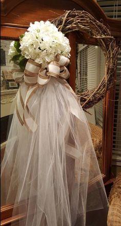 Wedding wreath, bride dressing room wreath, outdoor wedding, front door wreath, wedding decor, wedding accessories, I Do