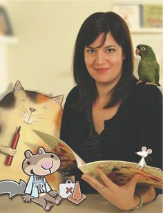 Interview with Scaredy Squirrel author Mélanie Watt (+ GIVEAWAY)  Kid-lit superstar Mélanie Watt talks to Today's Parent about her beloved books and tells us why she sees a bit of Scaredy Squirrel in everyone.