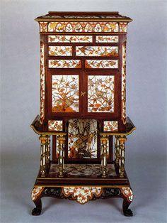 Veuve Ferdinand Duvinage. Cabinet. Paris, vers 1880.