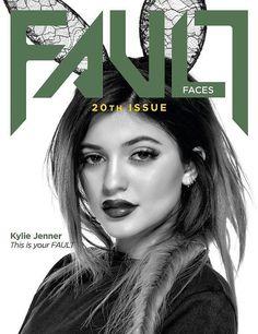 Kylie Jenner on Fault Magazine Spring 2015