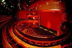 This is a proscenium theatre