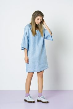Twenty Seven Names July Dress - Chambray