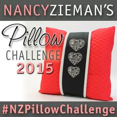 Nancy Zieman's 2015 Pillow Sewing Challenge. Submit up to four pillows for a chance to win giveaway prizes.
