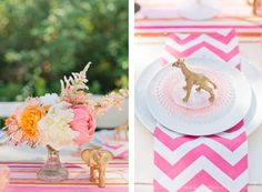 Luxe Circus Baby Shower | Styling by Maddy Hague of Somewhere Splendid, Photography by Canary Grey Photography, Floral Design by Studio Fleurette.