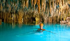 Xplor, Rivieria Maya, I've done this!!! It was so much fun cave swimming in Mexico!
