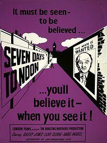 Paul DehnandJames BernardBest Story1952Seven Days to Noon