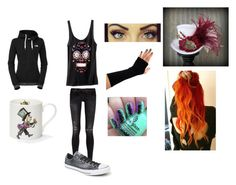 Untitled #15 by yousavedmexoxo on Polyvore featuring The North Face, R13, Converse and Mrs Moore's Vintage Store