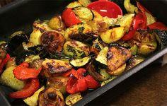 Helpot uunijuurekset à la Kari Aihinen. Coleslaw, Sprouts, Zucchini, Side Dishes, Potatoes, Vegetarian, Pasta, Dinner, Vegetables
