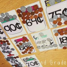Counting Coins math