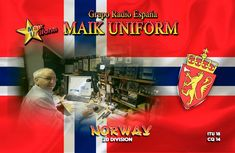 11m  QSL for Haakon Itu, Norway, Around The Worlds