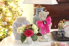 The Glam Pad: A Pink and Preppy Christmas