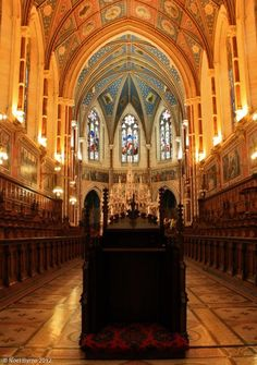College Chapel at St Patricks Seminary, Maynooth, Co Kildare, Ireland Copyright: Noel Byrne