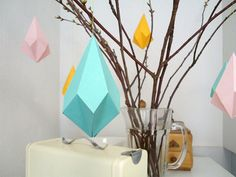 Wooden Crystal Template for Decorating
