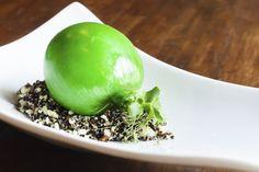 Lime, quinoa, white chocolate