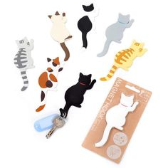 Magnet Hook Cat Tails 1 - What more to say other than we just LOVE cool stuff!