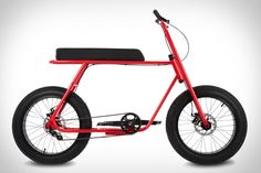It's a tandem, a cruiser, and an electric in one package. The Ruckus Bike sports an extra-long custom lounge seat so you can bring a friend along for the ride or cuise around solo. An adjustable bottom bracket allows for...
