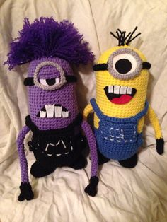 Crochet minion-