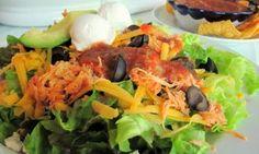 NO FAIL Spicy HOT buffalo taco salad!