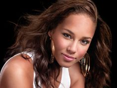 """Alicia Keys - yes so very much like young 'Jessie' from the story of """"Get Emily""""..."""