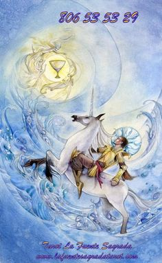 Eso no quiere decir que no tenga conflictos interiores,  este Arcano del Tarot està regido por el Agua,  es decir las emociones y , como tal  sufre por dentro aunque no lo exprese. Si nos fijamos en la imagen de la Carta del Tarot, vemos que, el yelmo y los pies  del caballero de copas tienen alas,  su caballo es brioso , fuerte,  y  encamina a su jinete hacia  una visión autèntica   sin eludir los compromisos  externos,