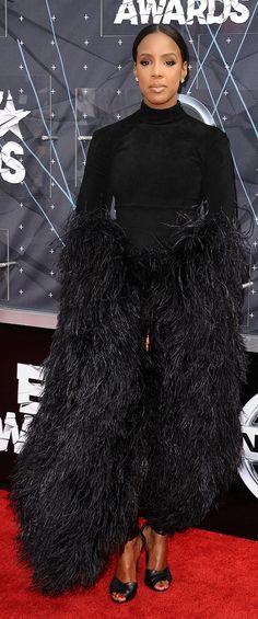 Kelly Rowland at the 2015 BET Awards