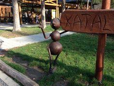 "Ingyenes ""kalandpark"" – Katalinpuszta   Utazz másképp! Budapest Hungary, Minion, Garden Sculpture, History, Outdoor Decor, Blog, Kids, Home Decor, Young Children"