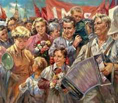 Павел Старостин. Первое мая. 1960.jpg