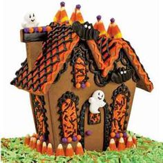 Haunted Gingerbread Houses Gingerbread Haunted Gingerbread