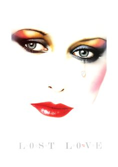 Syd Brak: Lost Love Folio illustration agency, London, UK 1980s influential airbrush artist