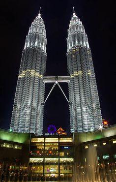 Twin Towers in Kuala Lumpur