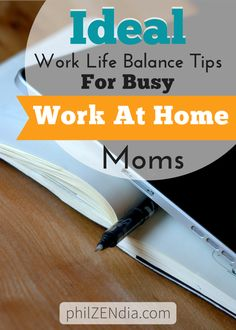 Click through to learn about some of the work life balance tips that work for a stay at home mom like me.