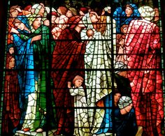Birmingham Cathedral (St. Philip's) - Edward Burne-Jones Stained Glass