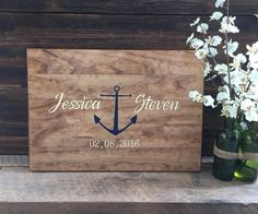 ***PLEASE NOTE- Production time is 4-5 weeks plus 1-3 days for shipping. *** This lovely wood alternative guest book is a beautiful accent piece