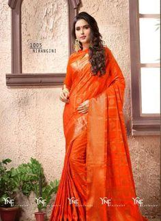 Nirangini Sarees #dress #dresses #bollywoodfashion #celebrity #fashions #fashion #indianwedding #wedding #salwarsuit #salwarkameez #indian #ethnics #clothes #clothing #india #bride #beautiful #shopping #onlineshop #trends #cultures #bollywood #anarkali #anarkalisuit #beauty #shopaholic #instagood #pretty #vjvfashions #sarees