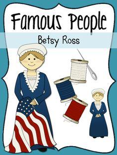 Betsy Ross Social Studies Clipart