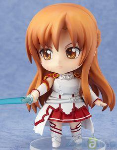 De 'Sword Art Online' llega un Nendoroid del caballero hermoso y sub-líder de los Caballeros de Sangre - Asuna! Ella viene con tres expresiones diferentes.